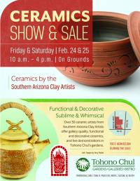 Ceramic Show & Sale at Tohono Chul