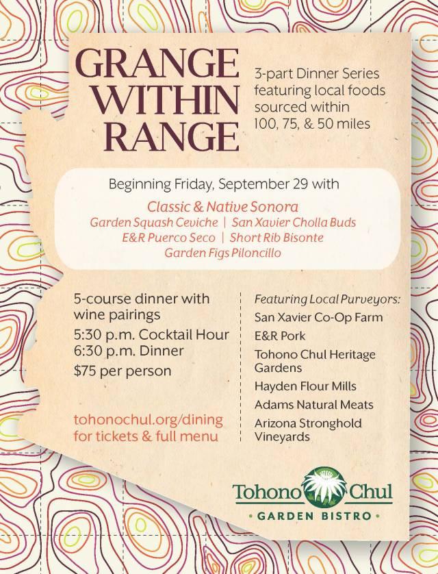 Grange Within Range Dinner – Classic & Native Sonora