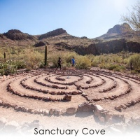 Places of Rest in a Turning World: Sanctuary Cove, White Stallion Ranch, and Mira Vista